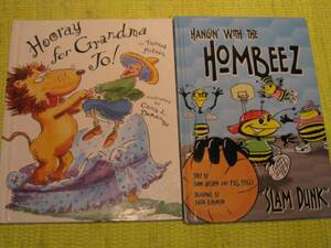 ハードカバー絵本2冊セットHOMBEEZ&Hooray for Grandma To!♪