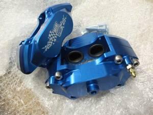 12 -inch for aluminium 4 pot caliper left right set ( blue )