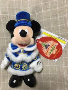 【送料込】 TDS シー クリスマスウィッシュ 2012 ミッキー ぬいぐるみバッジ ぬいば ディズニー クリスマス 東京ディズニーシー 新品未使用