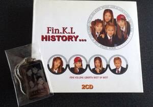 Fin.K.L. History キーホルダー付き