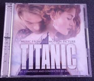 TITANIC 映画 タイタニック サントラアルバム中古CD