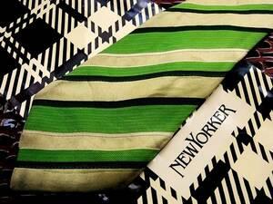 ★SALE【USED並品】№0047ニューヨーカーのネクタイ♪