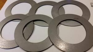 ユンボ 重機 隙間調整板 バケットシム ピン径65ミリ用 新品 日立 住友 コベルコ ZX120 EX120-5 SH120 SH125X SH135X