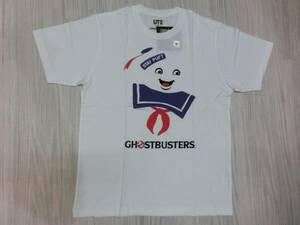 映画ゴーストバスターズ◆マシュマロマン Tシャツ Mサイズ ユニクロ UT◆Ghostbusters Staypuft Marshmallow Man T shirt