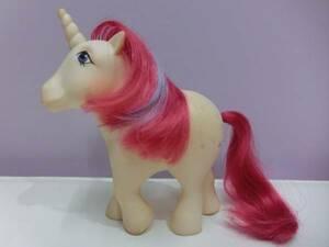 マイリトルポニー 80s G1◆ビンテージ フィギュア 人形 ユニコーン #4◆My Little Pony Vintage Figure Doll HASBRO Unicorn ファンシー