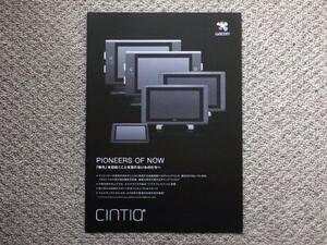 【カタログのみ】wacom Cintiq 2014.03 24HD 22HD 13HD touch 美品