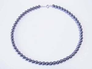 【Лимитный рынок】 Высокое качество Terahertz 6 мм Ожерелье Бесплатная доставка