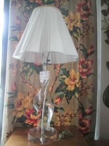 豪華レア!50's ルーサイト樹脂 螺旋シェードランプUSA アメリカアンティーク antique/アールデコ40'sアールヌーヴォー店舗什器フランス