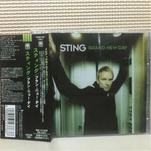 スティング/ブラン・ニュー・デイ 国内盤帯付き 中古CD