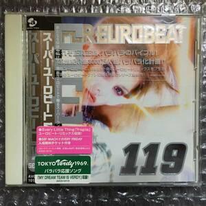 ★☆SUPER EUROBEAT VOL.119 / スーパーユーロビート☆★