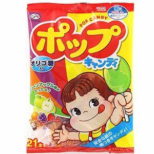 ポップキャンディ1袋21本入り(不二家)【メール便可能】