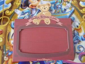 即決♪新品♪東京ディズニーシースウィートダッフィー2010 シェリーメイ ポストカード立て フォトスタンド バレンタインデー♪TDR TDL TDS