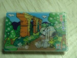 SNOOPY Snoopy Pass Case 08 Seven Eleven Limited in Taiwan
