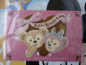 即決♪新品♪東京ディズニーシー スウィートダッフィー 2010 シェリーメイ ポストカード バレンタインデー ホワイトデー♪TDR TDL TDS♪