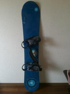 ★BURTONバートン スノーボード セット154cm★レディース