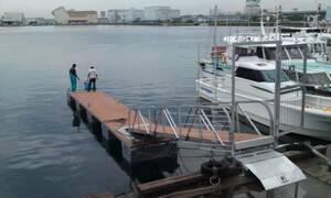 浮桟橋 ポンツーン 【検 モーターボート クルーザー】格安