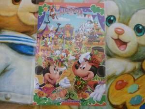 即決♪新品未使用♪東京ディズニーランド ハロウィン ハロウィーン 2014 ポストカード♪TDR TDL TDS♪