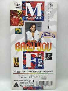 MICHAEL FORTUNATI / BABY YOU CDS EUROBEAT(ユーロビート) ALFA INTERNATIONAL マイケル・フォーチュナティ / ベイビー・ユー