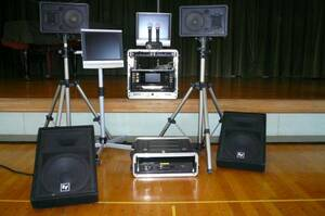 PA sound karaoke rental festival Event optimum special set Ⅱ
