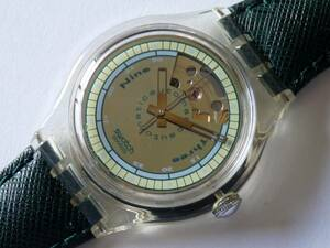 未使用 92年オートマチック スウォッチ Swatch SAK100