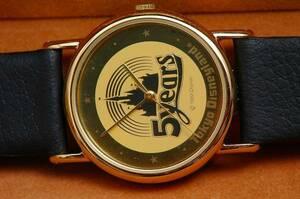 東京ディズニーランド 5周年記念限定時計●非売品/未使用●TDL