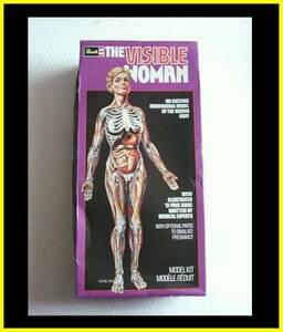 輸入プラモ●エ0スペース1999ムーンベースアルファのラッセル博士も愛用していた?The Visible Woman by Revell 1977未組立人体の不思議展