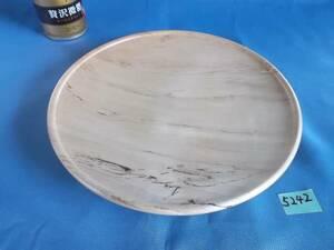 新品 [5242] 栃の花台 盆栽台鉢山野草敷板花瓶皿