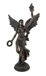 サモトラケのニケ 復元 ギリシャ彫刻レプリカ彫像古代彫刻古代ギリシャブロンズ像置物インテリアオブジェ女神像西洋彫刻洋風フィギュア