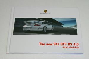 ポルシェ 911 997 GT3 RS 4.0 カタログ 英語 2011 600台限定