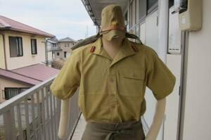 日本軍鹵獲使用 米比軍防暑衣 検:日本軍刀緒防暑略衣南方戦線 XL