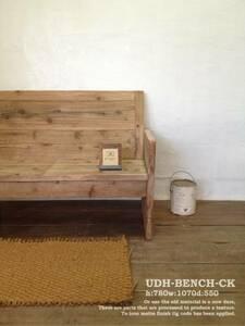 数量限定 OMB 古材 ベンチ アンティーク シャビー チェアー 椅子 イス