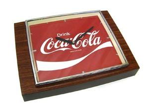CocaCola/コカコーラ☆ビンテージ壁掛け時計 動作品 札幌