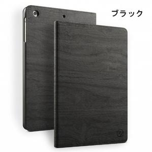ipad mini4ケース カバー スタンドタイプ 軽量 極薄 ブラック
