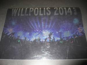 パンフ バンプオブチキン 劇場版 WILLPOLIS 2014