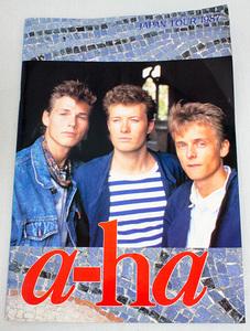 【パンフレット】 a-ha /アーハ 1987年 ツアー 日本公演
