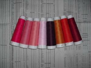*ニット専用ウーリーミシン糸*女の子カラー8色セット