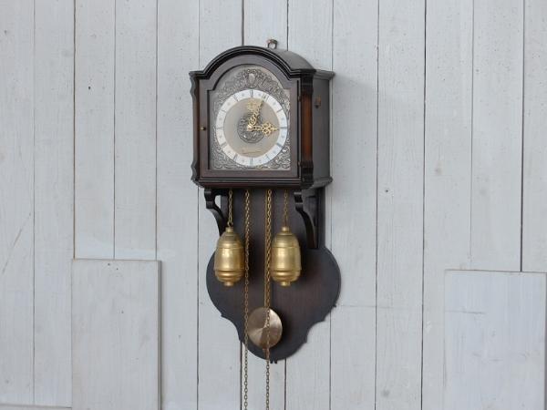 【MIBRAN/ミブラン/分銅式掛時計/重錘式振り子時計/柱時計】