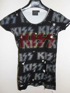 サディスティックアクション SADISTIC ACTION ICONIC アイコニック レディース半袖Tシャツ KISS Sサイズ 新品