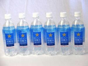 サッポロおいしい炭酸水 ペットボトル 500ml×12本