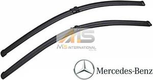 【M's】W204 ベンツ AMG Cクラス(2007y‐2013y)純正品 フロント ワイパーブレード 左右(右ハンドル用)/S204 C180 C200 C250 C300 C350 C63