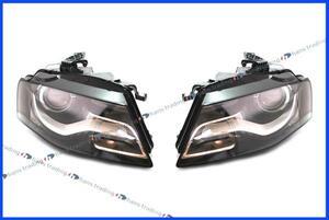 AUDI アウディ A4 ヘッドライト ヘッドランプ 左右セット/純正品 正規品 新品 8K0-941-029AN 8K0-941-030AN 左側通行用 日本仕様