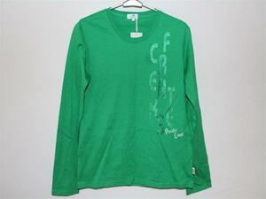 パシフィックコースト PACIFIC COAST レディース長袖Tシャツ Lサイズ グリーン 新品