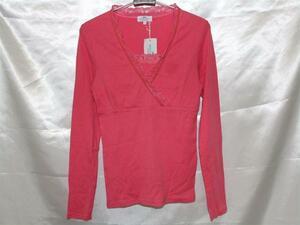 パシフィックコースト PACIFIC COAST レディース長袖Tシャツ ピンク Mサイズ 新品