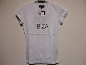 エドハーディー ED HARDY レディース半袖Tシャツ ホワイト XSサイズ SP052 新品