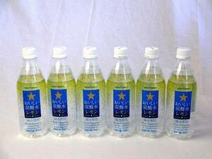 サッポロおいしい炭酸水レモン ペットボトル 500ml×10