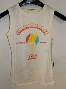 キャメロンハワイ Cameron Hawaii レディースノースリーブTシャツ Mサイズ NO16