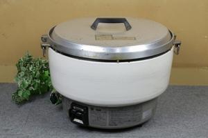 【リンナイ Rinnai】ガス炊飯器 8.0L炊き LPガス用 RR-40Si 98年製 [ジャンク]