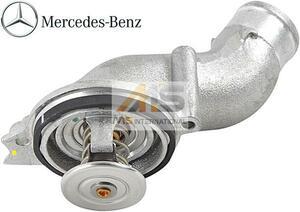【M's】AMG R230 SL55/W220 S55/W215 CL55(V8/M119)純正品 サーモスタット(87℃)/ベンツ 正規品 サーモスタッド 113-203-0275 1132030275