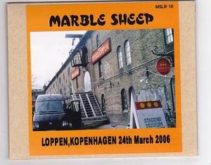 CD-R/MARBLE SHEEP / LOPPEN,KOPENHAGEN 24th March 2006