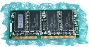 Note for SODIMM memory 64MB NO.J11